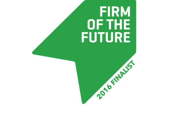 Firm of the Future contest - finalists
